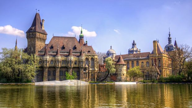 Kështjella Vajdahunyad budapest hima travel