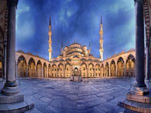 Udhetim ne Stamboll Blue Mosque
