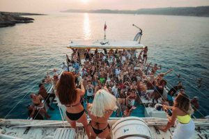 Boat Party ne Malte