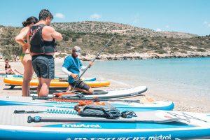 Paddleboard dhe Snorkeling Crete