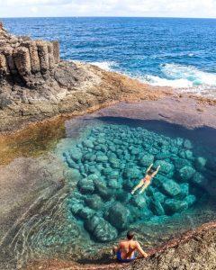 Pishine natyrore ne Fuerteventura