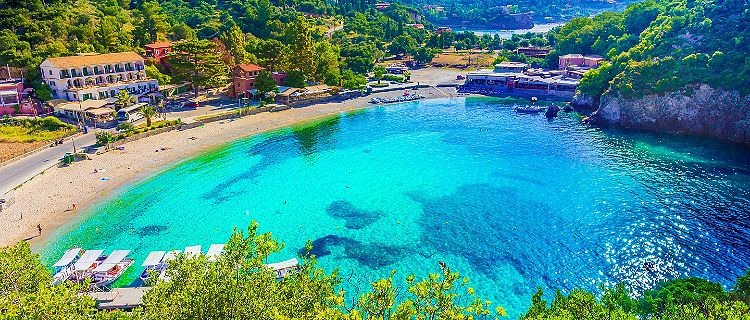 Pushime ne Korfuz