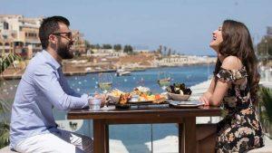Rooftop bar be Malte