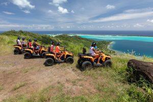 Bora Bora Quad Tours in ATV