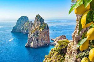 Pushime ne Capri Itali