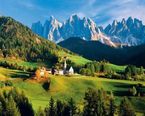 Pushime ne Dolomitet Itali