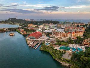 Pushime ne Ishullin Sentosa Singapor
