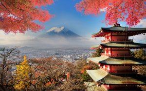 Pushime ne Kyoto Japani