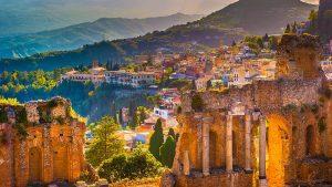 Pushime ne Taormina Itali